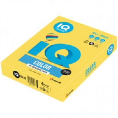 "Бумага IQ ""Color intensive"" А 4, 80 г/м 2, 500 листов канареечно-жёлтый"