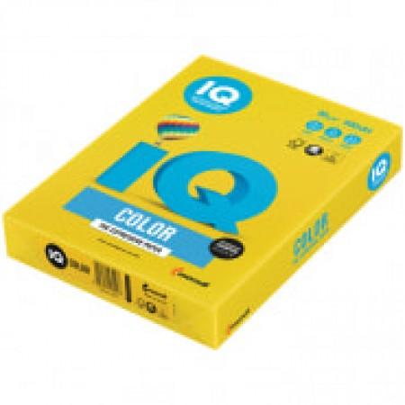 "Бумага IQ ""Color intensive"" А4, 80 г/м 2, 500 листов ярко-жёлтый"