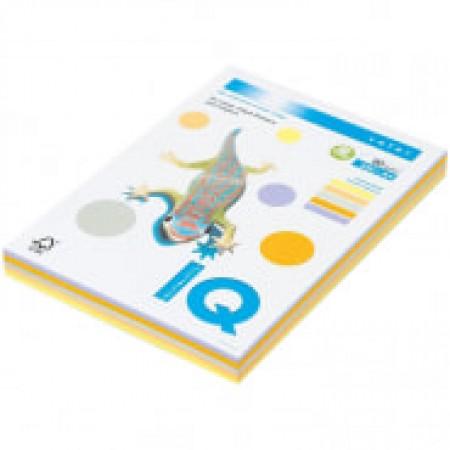 """Бумага IQ """"Color Trend Mixed Packs"""" А 4, 80 г/м2, 250 листов 5 цветов"""
