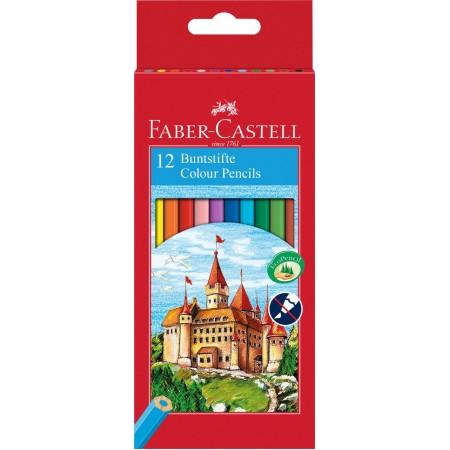 Карандаши Faber Castell 12 цв.шестигранные