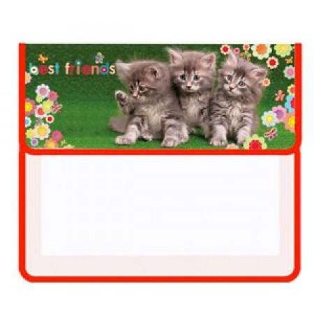 Папка для тетрадей ПТ-45 Три котёнка
