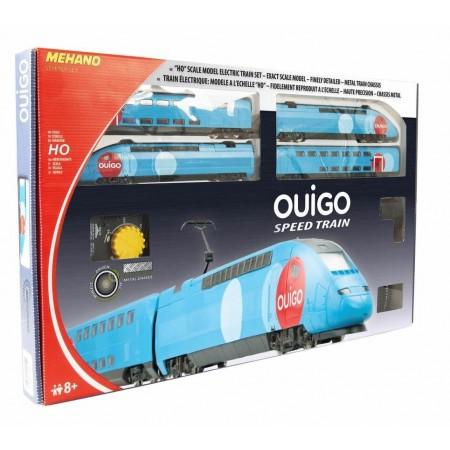 Железная дорога Mehano Стартовый набор двухэтажного TGV OUIGO