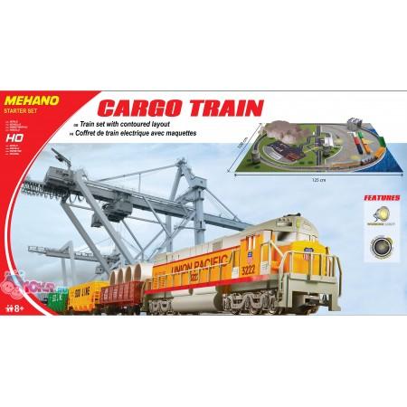 Железная дорога Mehano CARGO TRAIN  с ландшафтом